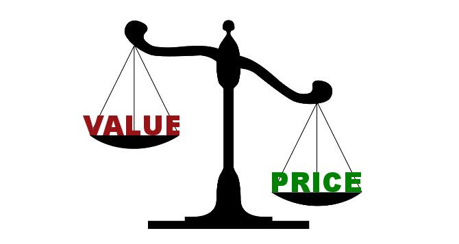Price versus value
